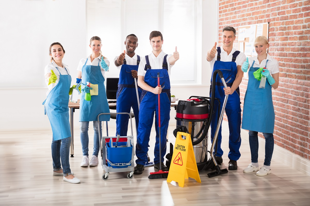 professional cleaners