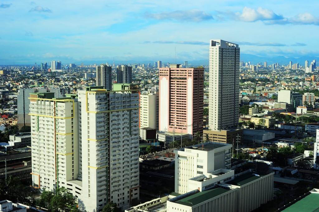 Aerial view of Makati City