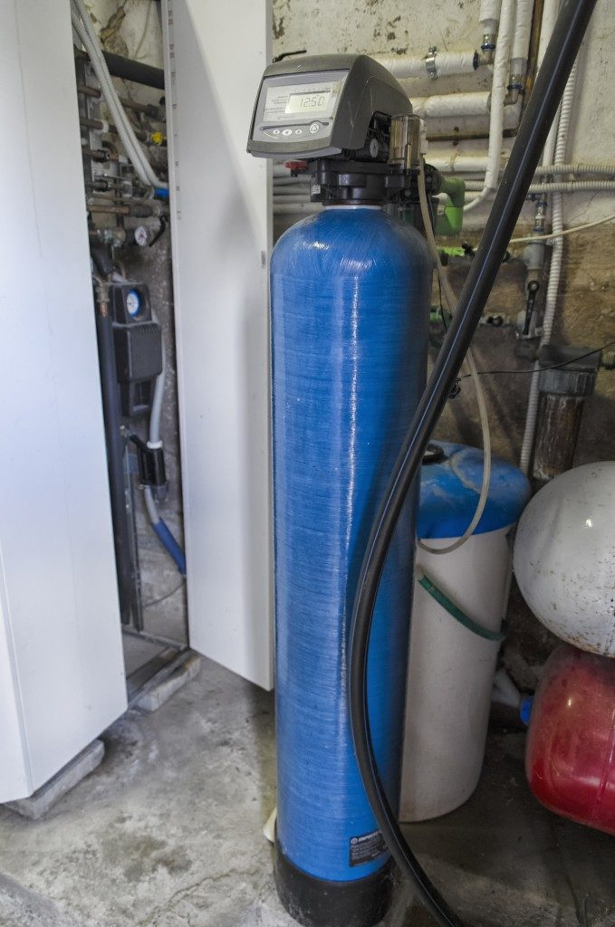 water conditioner and condensing boiler