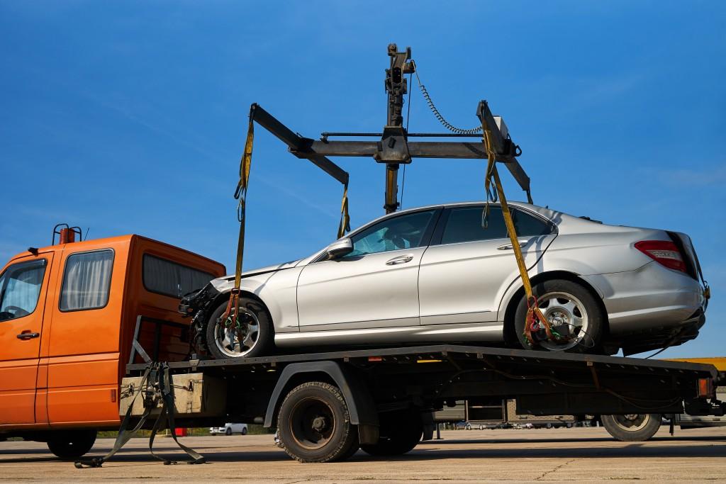 repossesed vehicle