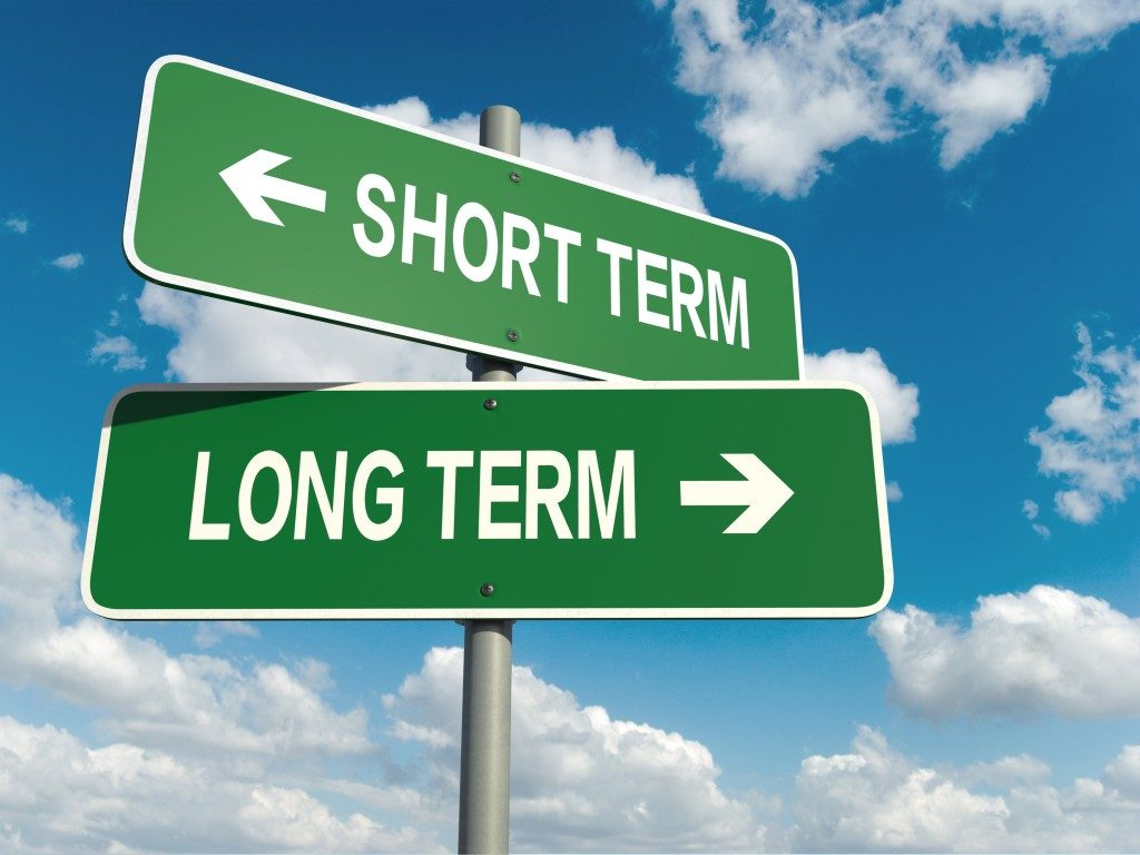 choosing between short term and long term