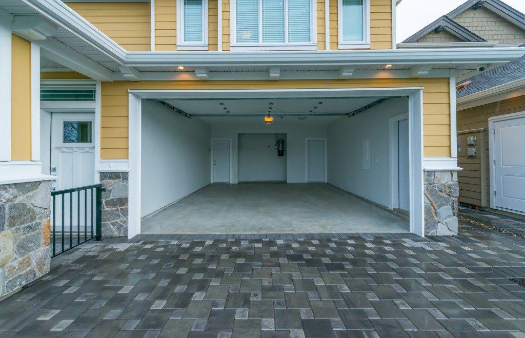 Open home garage