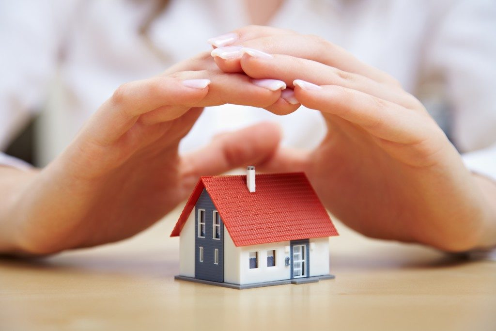 saving for a house concept