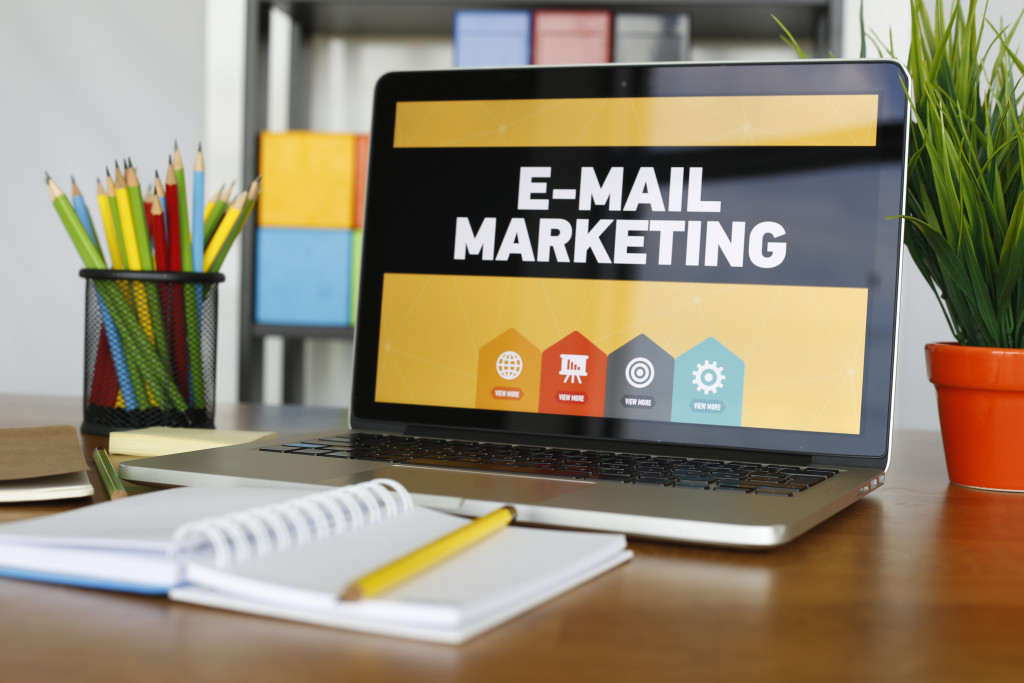 E-Mail Marketing Concept